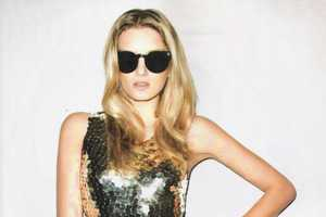 The Lily Donaldson Harper's Bazaar Brazil Cover That Shines