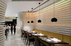 Space-Shifting Sushi Bars - Sushicafé Avenida in Lisbon is Far from Traditional