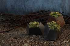 Rock-Like Planters