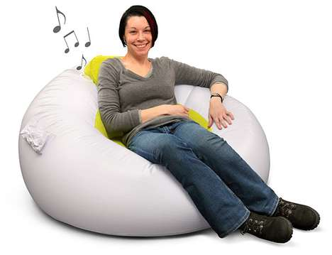 Inflatable iMusic Chair