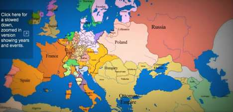 time lapse map of europe