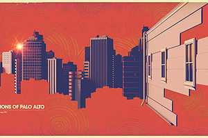These 'Missions of Palo Alto' Prints Promote the Bay Area City