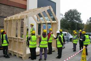 The Wikihouse is Assembled Using Design Mockups Found Online
