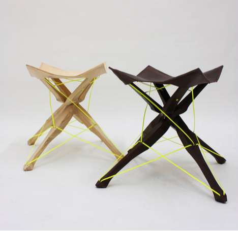 kreuzband stool by judith jacobi