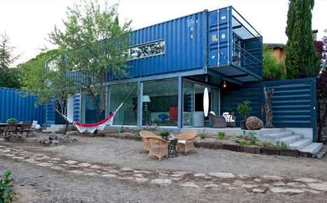 Shipping Container Lairs - Casa El Tiamblo by James and Mau Arquitectura is Not an Average Home