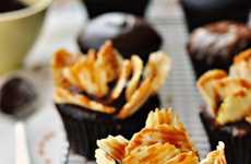 Chip-Crowned Cakes - These Highway to Heaven Cupcakes are Shamelessly Over-the-Top