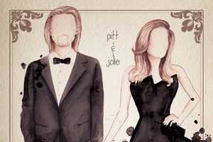 The Camilla Gray Watercolor Oscar Dresses are Fabulous