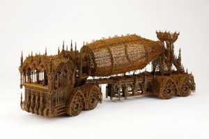 Wim Delvoye Find Beauty in the Rugged and Industrial