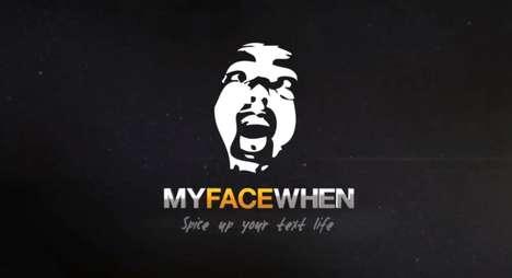 Mobile DIY GIFs - 'MyFaceWhen' iPhone App Allows On-The-Go Hilarity