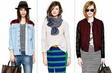 Layered Tomboy Lookbooks