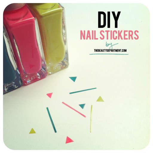 DIY Nail Tape