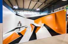 Optical Illusion Walk-Throughs - The Trillusion Installation by Boris Banozic is Visually Intriguing