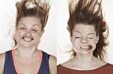 The Blow Job 2012 Series by Tadao Cern Morphs Faces