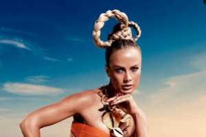 The Vogue Germany June 2012 Carolyn Murphy Editorial is Otherwordly