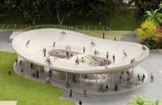Playful Cycling Pavilions - Bicycle Club by NL Architects is an Arena Dedicated to Cyclists
