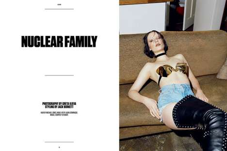Under the Influence Magazine Nuclear Family