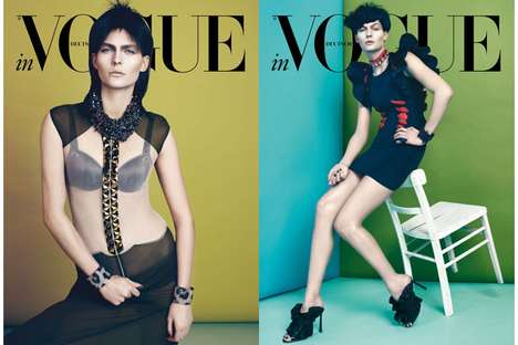Karolin Wolter for Vogue Germany