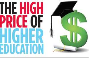 The High Price of Higher Education Infographic Reveals School Tuitions