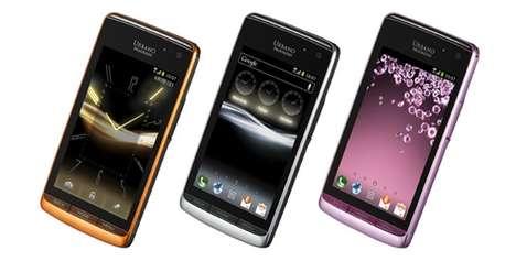 Face-Shaking Phones - The Kyocera URBANO PROGRESSO Transmits Sound Using Vibrations and Skin Contact