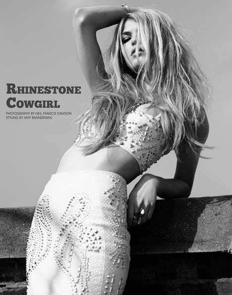 Fashion Gone Rogue Rhinestone Cowgirl