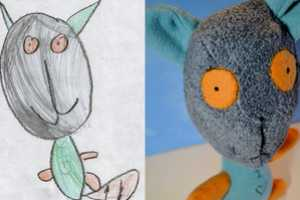 The Wendy Tsao 'Child's Own Studio' Turns Drawings into Stuffed Animals