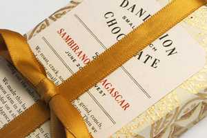 The Dandelion Chocolate Packaging Unwraps Like a Present