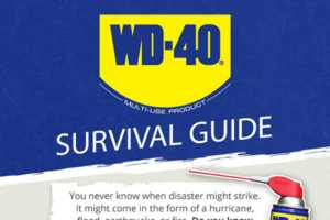 The WD-40 Survival Guide Infographic Shows Tips for Disasters