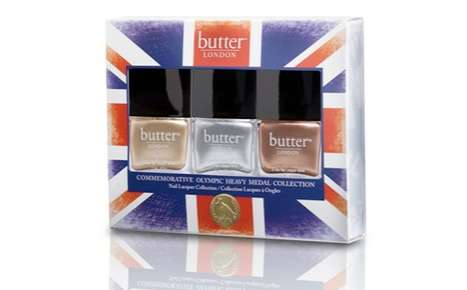 Patriotic Metallic Lacquers - The butter LONDON Heavy Medal Collection is Summer-Games Ready