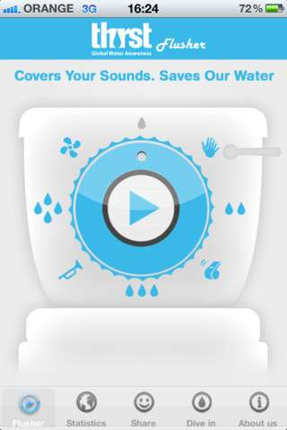 the thirst flusher app
