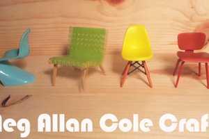 Meg Allan Cole Crafts Debuts DIY Colorblocked Flats