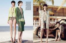 Eclectic Retro Seaside Editorials