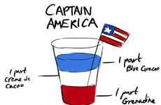 Superheroic Shot Recipes