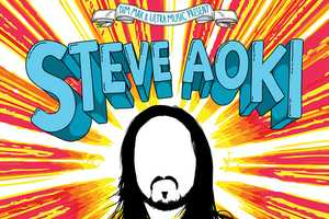 The Steve Aoki Album Posters are Vibrant