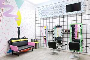 The YMS Hairstyle Salon by Kitsch Nitsch is Colorfully Eyepopping