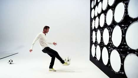 Soccer Ball Drumming Ads - David Beckham Plays Beethoven in the Samsung Galaxy Ad