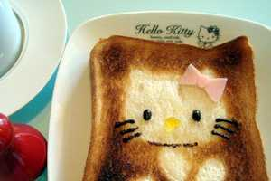 The 'Kotaku' Hello Kitty Toast is Shaped Out of Foil