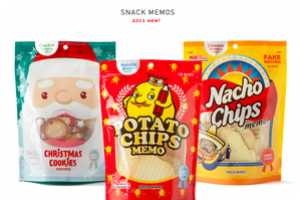 Peco Mart 'Snack Memos' Look Like Tasty Treats