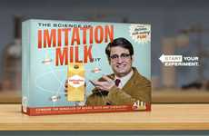 Anti-Imitation Milk Campaigns - The 'Got Real Milk?' Advertisement is Playfully Scathing