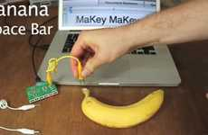 Fruity Computer Peripherals - MaKey MaKey Lets You Turn Offbeat Objects into a Keyboard and Mouse