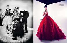 Glamorous Dior Galleries - The Harper's Bazaar Singapore Editorial Stars Liu Wen