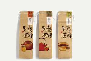 The Siid Cha Packaging is Adorned with Warm Watercolor Designs