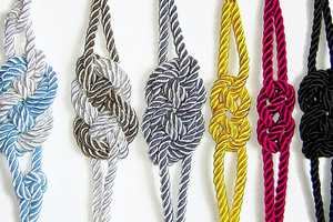 The Sailor Knot Bracelets by Etsy Seller Agats Knitting are Playful