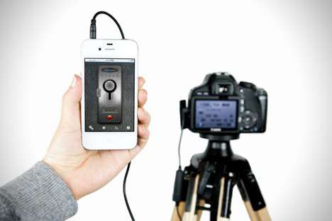 Cellular DSLR Triggers - The ioShutter Remote Turns Your Mobile Device into a Camera Accessory
