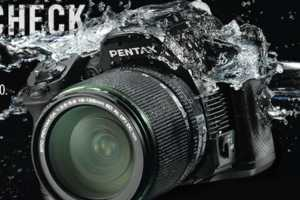 Pentax K-30 Camera Will Shoot in Wet Weather Environments
