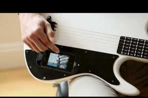 The gTar iPhone Guitar Integrates Smartphones into Music