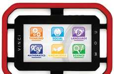 Durable Toddler Technology - The VINCI Tab II Touch Screen Learning Tablet is Child-Friendly