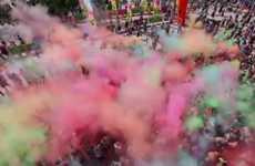 Pigment-Bombing Marathons