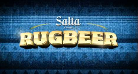 the rugbeer machine by salta beer