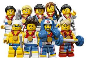 The LEGO Olympic 2012 Minifigures are Ready to Compete