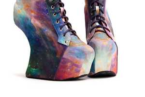 The Jeffrey Campbell for Black Milk Collection is out of This World